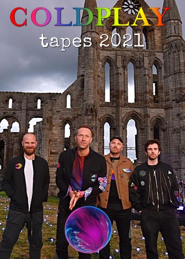 コレクターズDVD  Coldplay - tapes 2021