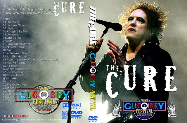 コレクターズDVD The Cure - Glastonbury Fes 2019