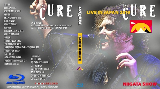 コレクターズBlu-ray  The Cure - Japan Tour 2019 Fuji Rock Fes
