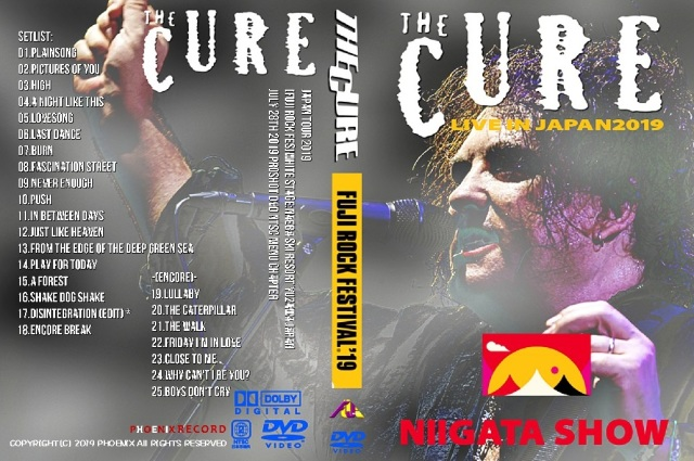 コレクターズDVD The Cure - Japan Tour 2019