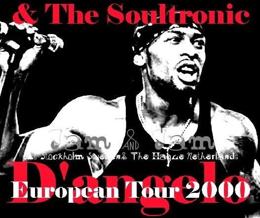 コレクターズCD D'Angelo(ディアンジェロ) 2000年ヨーロッパツアー