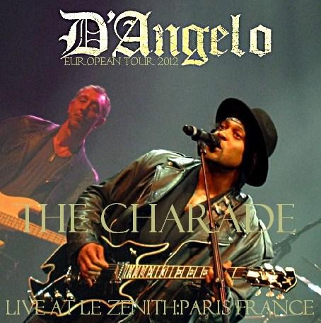 コレクターズCD D'Angelo(ディアンジェロ) 2012年ヨーロッパツアー