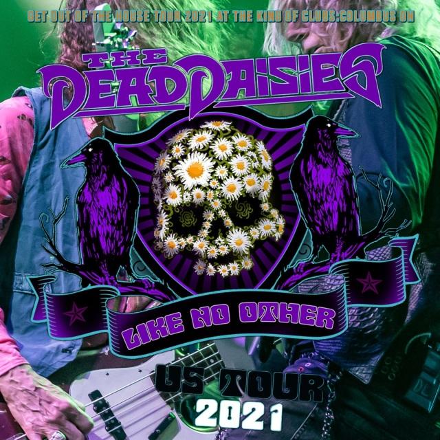 コレクターズCD The Dead Daisies - Get Out of the House Tour 2021