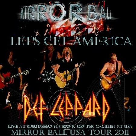 コレクターズCD Def Leppard(デフ・レパード2011年アメリカツアー)2011・06・26 NJ USA