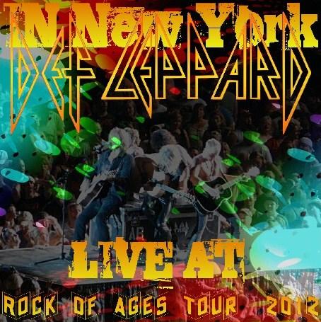コレクターズCD デフ・レパード (Def Leppard) 2012年アメリカツアー