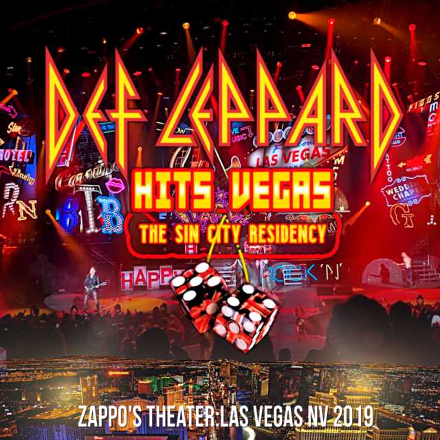 コレクターズCD Def Leppard - Sin City Residency Tour 2019