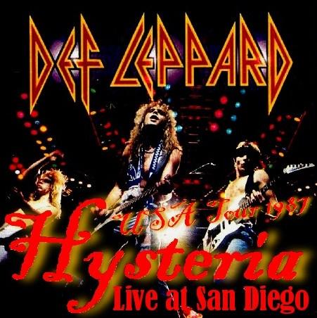 コレクタ-ズCD  デフ・レパード (Def Leppard87年アメリカツアー)San Diego Ca USA 87.11.20