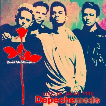 コレクターズCD デペッシュ・モード(Depeche Mode) 1990年日本公演(World Violation Japan tour)