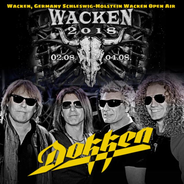 コレクターズCD Dokken  - Summer Tour 2018Wacken Open Air)(