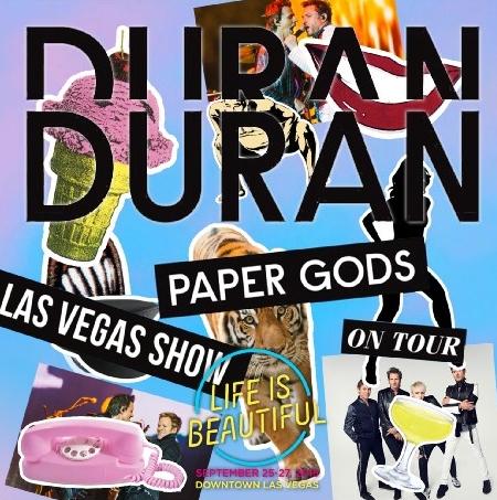 コレクターズCD デュラン・デュラン(Duran Duran)2015年アメリカツアー