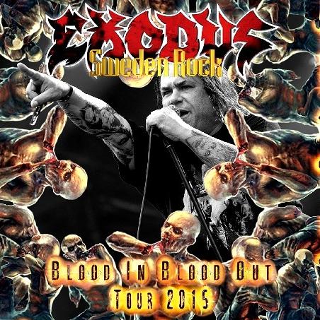 コレクターズCD エクソダス (EXODUS)2015年ヨーロッパツアー
