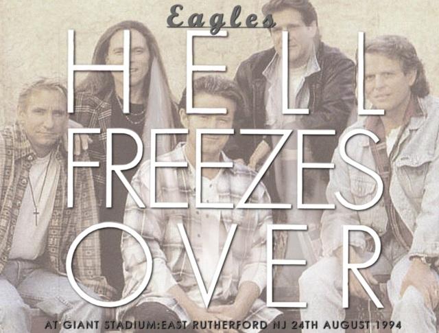 コレクターズCD Eagles  - Hell Freezes Over Tour 1994