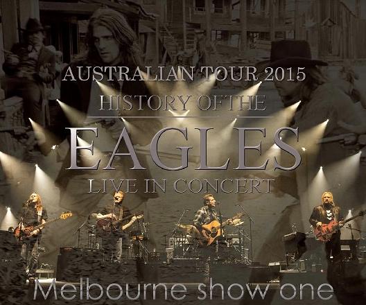 コレクターズCD イーグルス 2015年オーストラリアツアー