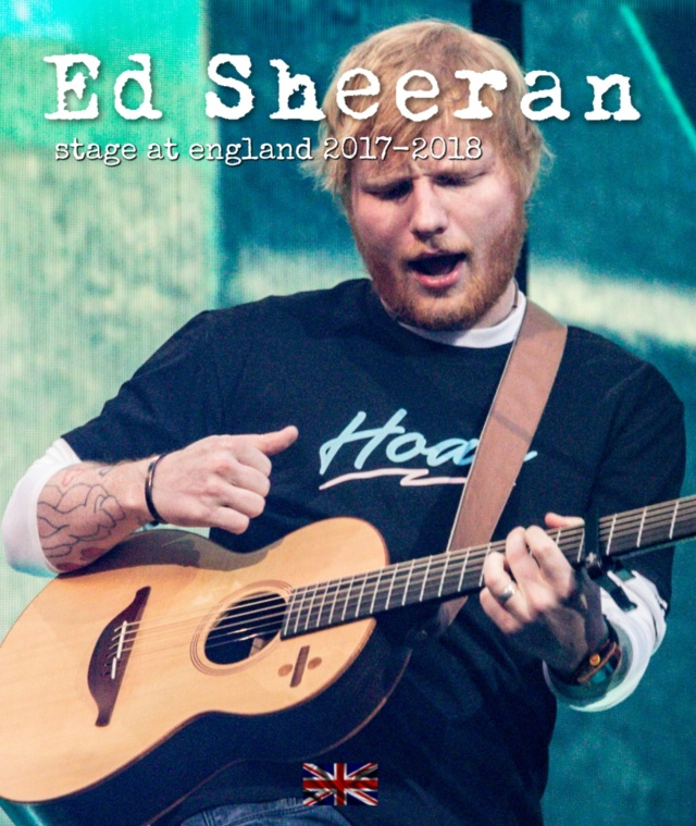 コレクターズBlu-ray  Ed Sheeran - Stage at England 2017-2018