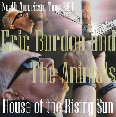 コレクターズCD Eric Burdon(エリック・バートン&アニマルズ2011年北米ツアー)カナダ