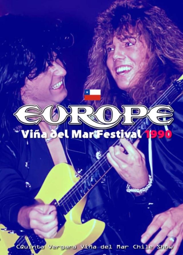 コレクターズDVD  Europe - Out of This World tour 1990