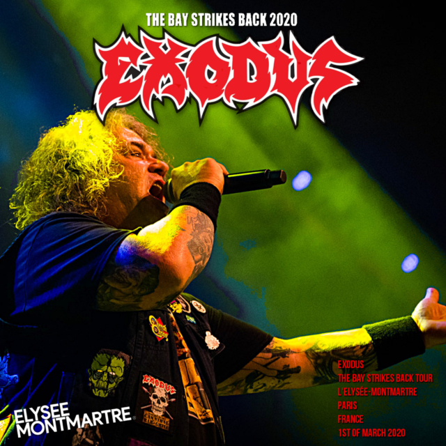 コレクターズCD Exodus - The Bay Strikes Back Tour 2020
