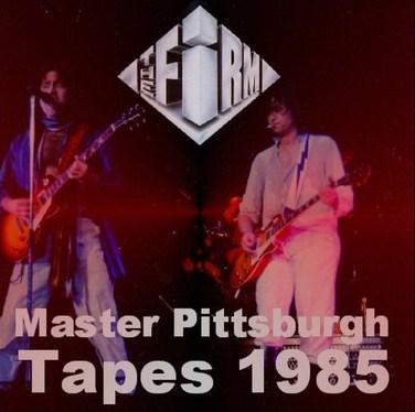 コレクターズCD The Firm(ジミーペイジ ファームw/ポールロジャース 1985年アメリカツアー)