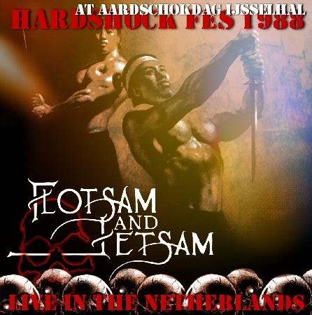コレクターズCD フロットサム・アンド・ジェットサム (Flotsam and Jetsam) 1988年 ヨーロッパツアー