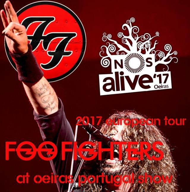 コレクターズCD フー・ファイターズ(Foo Fighters) 2017年ヨーロッパツアー