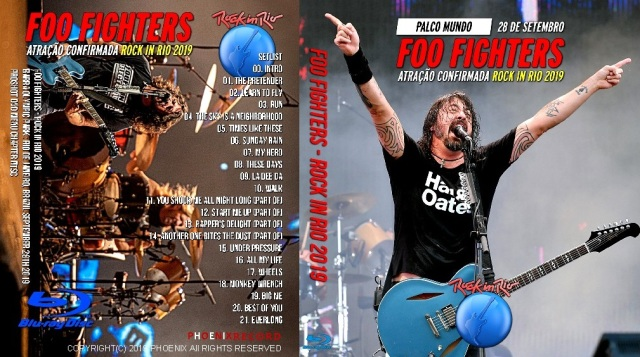 コレクターズBlu-ray  Foo Fighters - Rock in Rio 2019