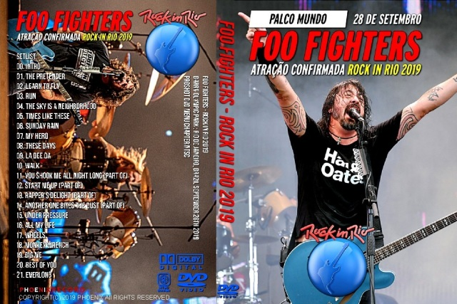 コレクターズDVD Foo Fighters - Rock in Rio 2019