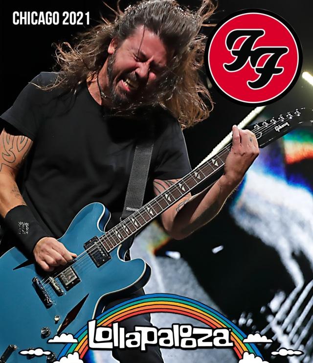 コレクターズBlu-ray Foo Fighters - US Tour 2021 [Lollapalooza 2021]