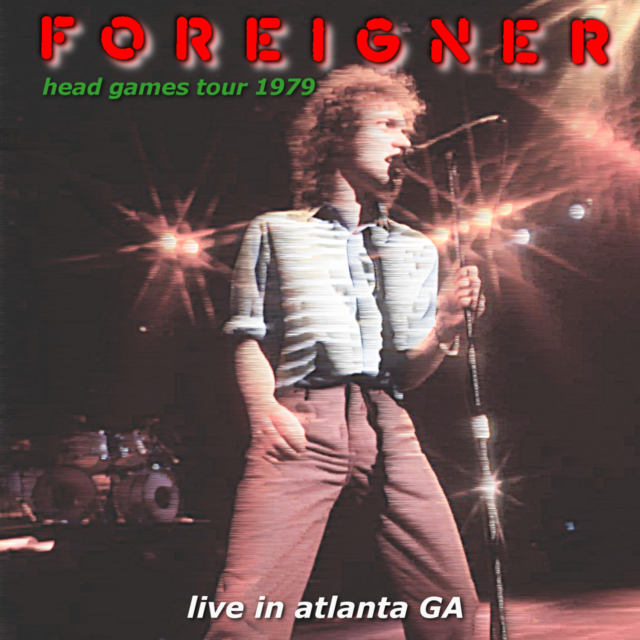 コレクターズCD Foreigner - Head Games USA Tour 1979