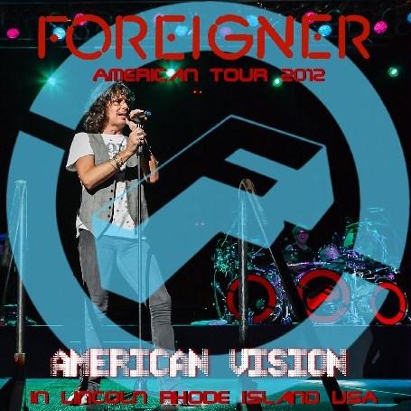 コレクターズCD フォリナー(Foreigner) 2012年 AmericanTour