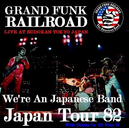 コレクタ-ズCD  GRAND FUNK RAILROAD(グランド・ファンク・レイルロード)82年日本公演 東京
