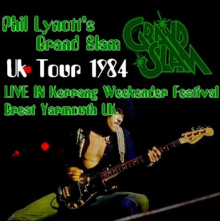 コレクターズCD GRAND SLAM(フィル・ライノットw/グランドスラム 84年ヨーロッパツアー)Yarmouth UK