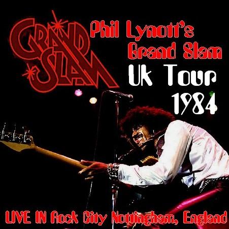 コレクターズCD Phil Lynott's Grand Slam(フィル・ライノットw/グランドスラム 84年ヨーロッパツアー)Nottingham UK