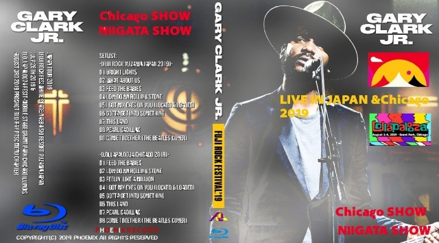 コレクターズBlu-ray Gary Clark Jr.- Japan Tour 2019 [Fuji Rock Fes]