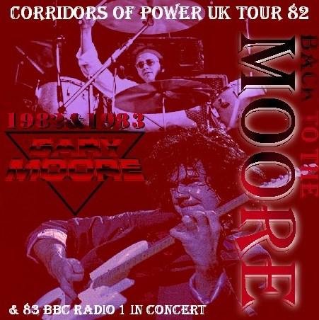 コレクターズCD ゲイリー・ムーア( Gary Moore)82年ヨーロッパツアー Newcastele