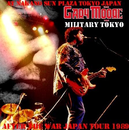 コレクターズCD ゲイリー・ムーア( Gary Moore 89年 来日公演) 89.05.08 日本武道館