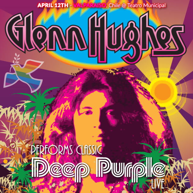 コレクターズCD Glenn Hughes - Classic Deep Purple Live Tour 2018
