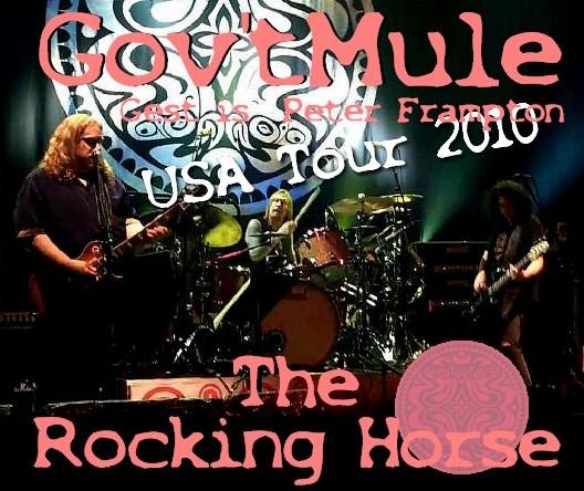 コレクターズCD Gov't Mule(ガヴァメントミュール)2010年アメリカツアー