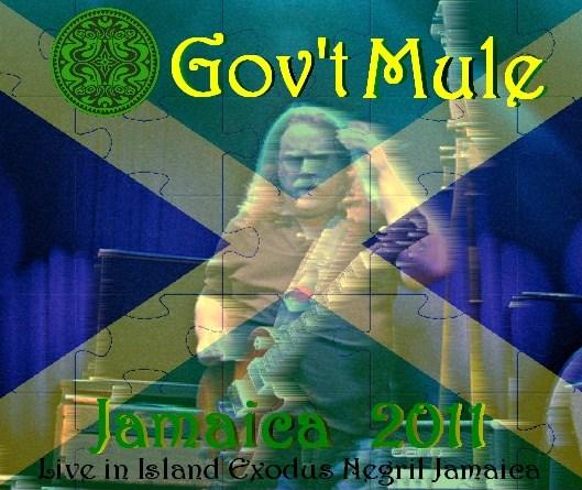 コレクターズCD Gov't Mule(ガヴァメントミュール) 2011年 ジャマイカ公演