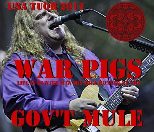 コレクターズCD Gov't Mule(ガヴァメントミュール)2011年アメリカツアー