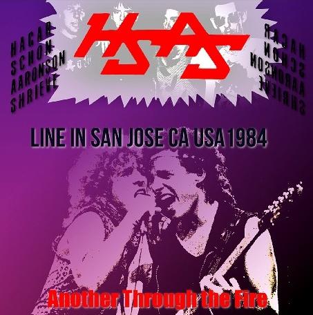 コレクターズCD HAGAR SCHON AARONSON SHRIEVE - American Tour 1984