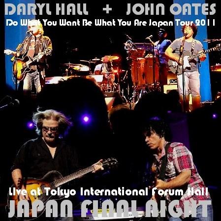 コレクターズDVD ダリル・ホール&ジョン・オーツ(Daryl Hall & John Oates 2011年日本公演)International Forum Hal l2011.02.28