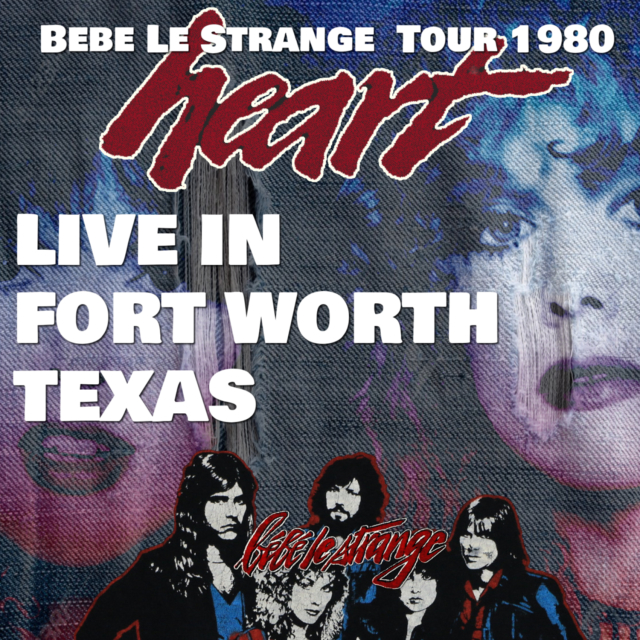コレクターズCD Heart - Bebe Le Strange  Tour 1980