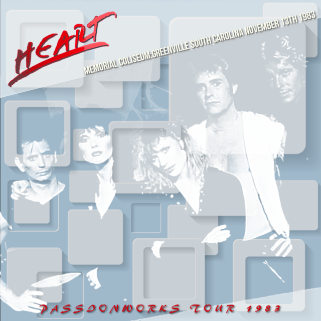 コレクターズCD Heart - Passionworks Tour 1983