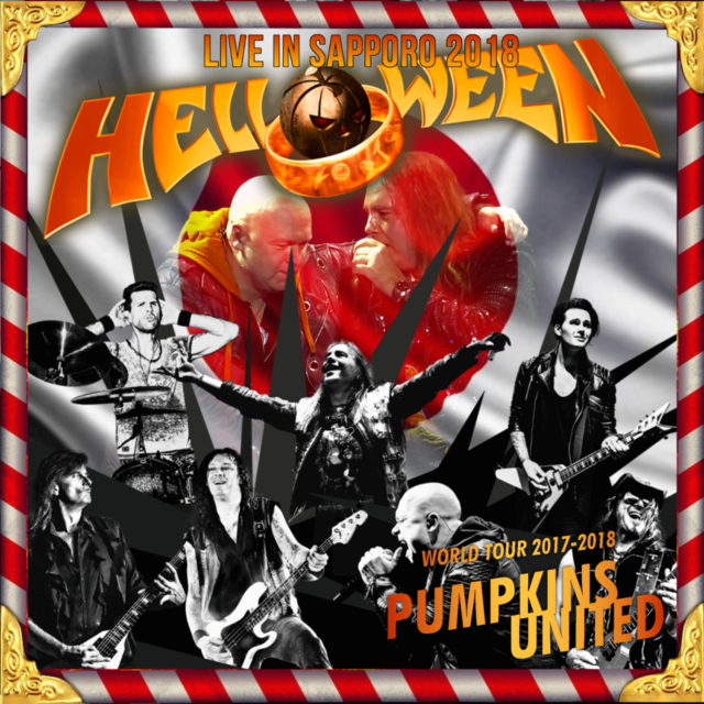 コレクターズCD Helloween - Pumpkins United Japan Tour 2018