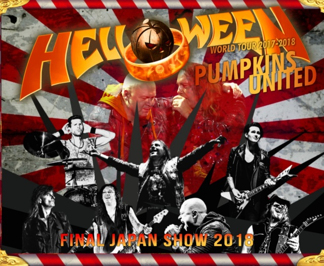 コレクターズCD Helloween  Pumpkins United Japan Tour 2018 Final