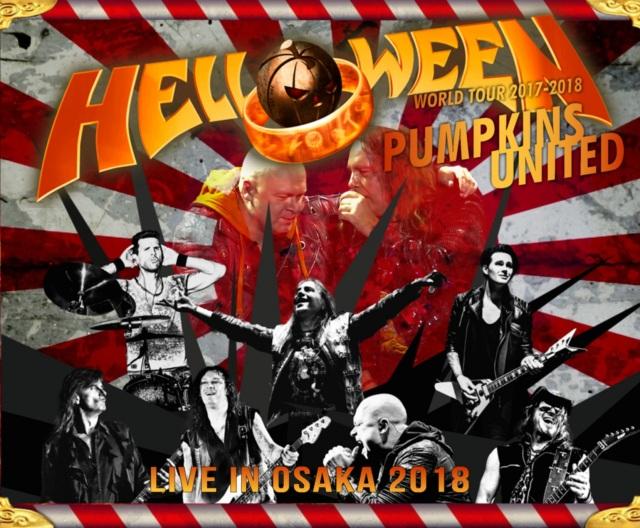 コレクターズCD Helloween - Pumpkins United Jaoan Tour 2018