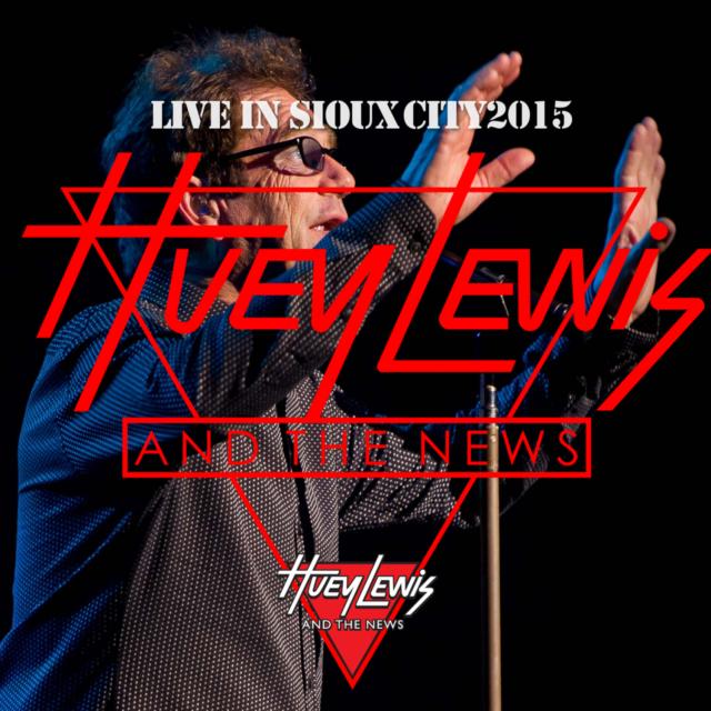 コレクターズCD  ヒューイ・ルイス&ザ・ニュース(Huey Lewis & The News)2015年アメリカツアー