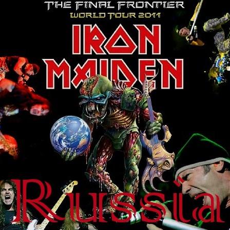 コレクターズCD アイアン・メイデン( IRON MAIDEN)2011年ヨーロッパツアー Moscow / Russia