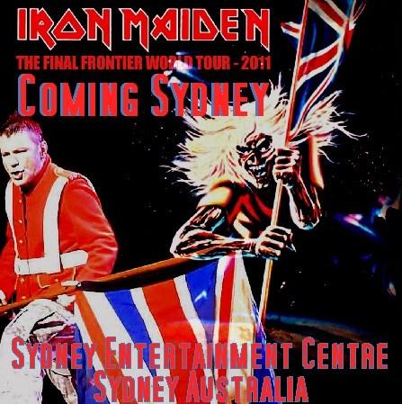 コレクターズCD アイアン・メイデン( IRON MAIDEN 2011年オーストラリア公演)2011.02.25 Sydney