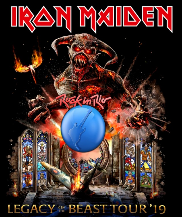 コレクターズBlu-ray Iron Maiden - Rock in Rio 2019